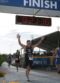 Dwight Lundell - ITU Age Group Long Distance World Champion