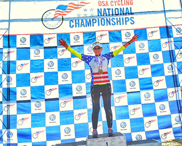 Julie Kimball - USA Cycling Masters Road National Championships - 1st Place Criterium