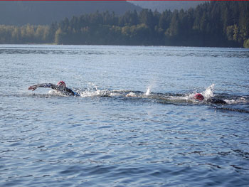 open water swim