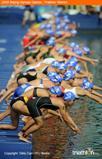 ITU Swim start