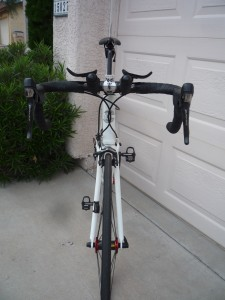 cannondale bike front view