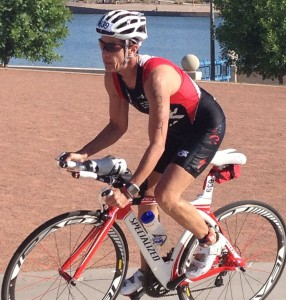triathlete cyclist