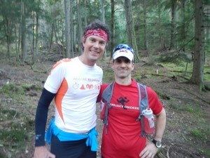 Scott Jurek and Todd Silva Nov 2013