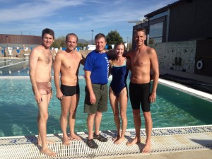 Total Immersion swim with Terry Laughlin