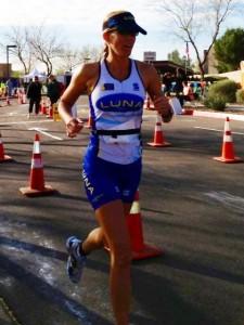 1st overall female JCC sprint Feb 2014
