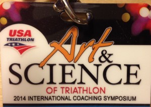 USAT Art and Science of Triathlon badge 2014