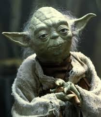 Listen to the Jedi Master . . .