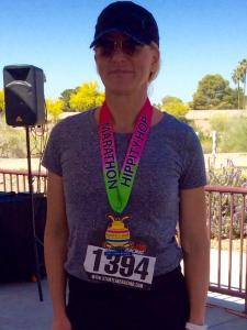 Kara Gibson Hippity Hop Marathon
