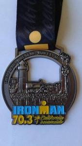 Oceanside 70.3 medal