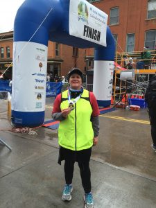 Rebecca Felmly - Fort Collins Half Marathon
